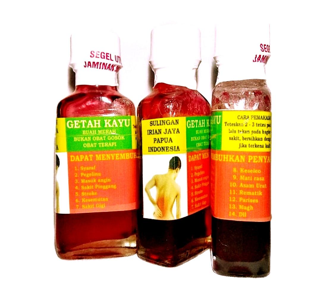 jual getah kayu merah papua obat asam urat reumatik dan syaraf di surabaya