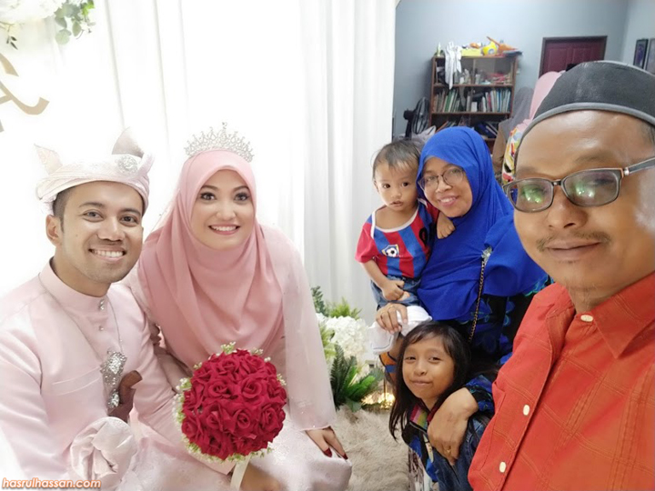 kenduri kahwin rakan blogger di kelantan