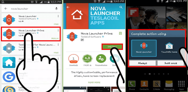 How to hide apps in Android