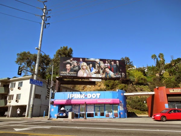 Kroll Show final season 3 billboard