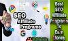 Best 10 SEO affiliate Programs to earn money in Hindi