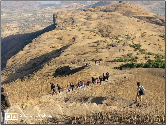 Anjaneri hill, trekking route