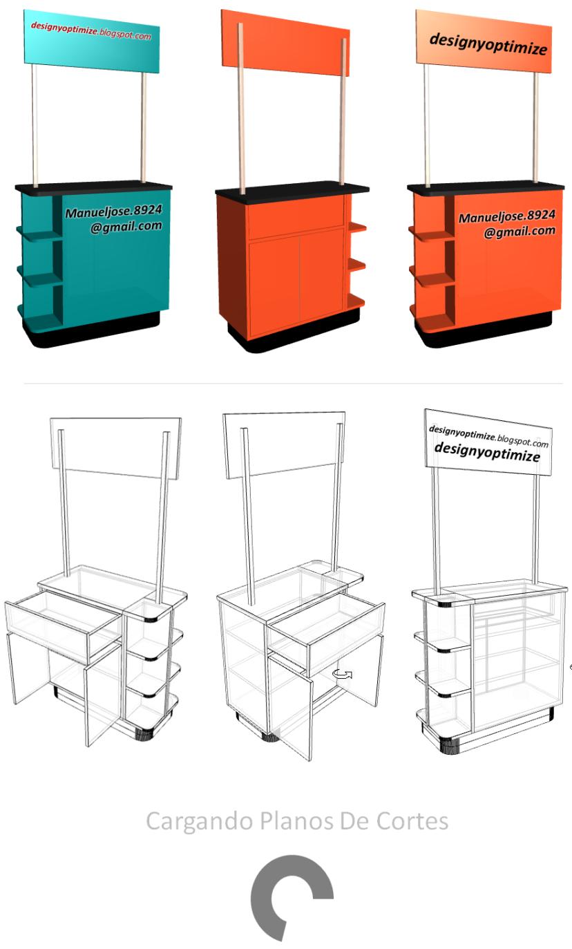 Dise o de muebles madera c mo crear y construir un stand for Planos y diseno de muebles