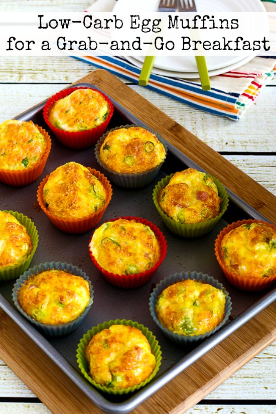 Kalyn S Kitchen 174 Low Carb Egg Muffins For A Grab And Go