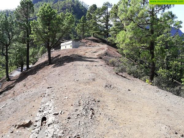 El Gobierno canario acometerá obras de restauración en el norte de La Cumbrecita de La Caldera de Taburiente