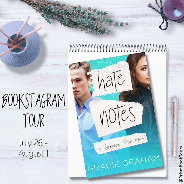 Check out the Bookstagram Tour for HATE NOTES by Gracie Graham!