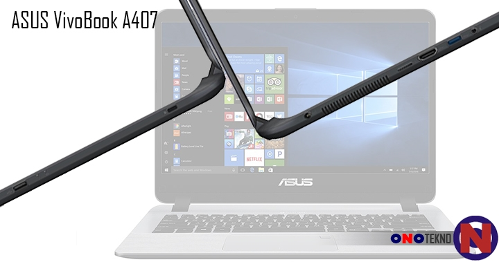 """ASUS Vivobook A407 """" Laptop Mainstream Dengan Desain Modern Dengan Plus Sistem Keamanan Terbaik """""""