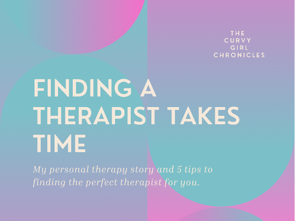 Finding a Therapist Takes Time