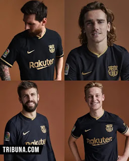 Barcelona has officially release 2020/21 away kit