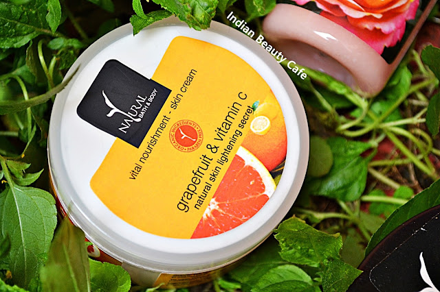 Natural Bath and Body Grapefruit and Vitamin C Skin Lightening Cream