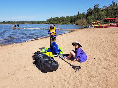 Astotin Lake Beach, Elk Island National Park