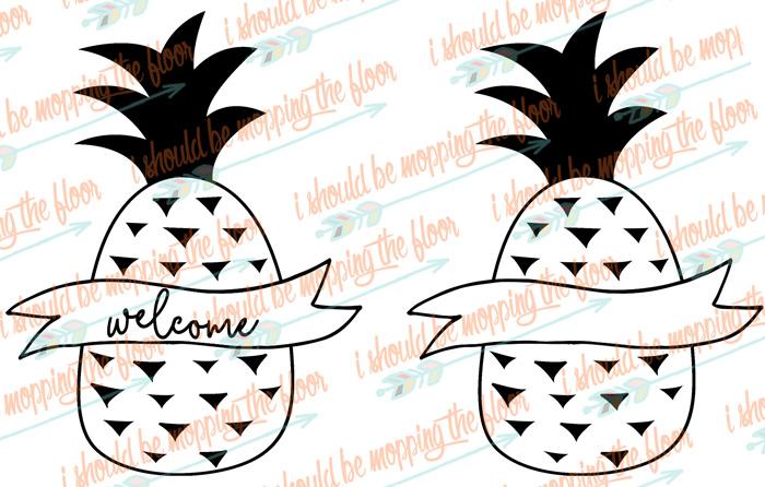 Pineapple SVG Cut Files