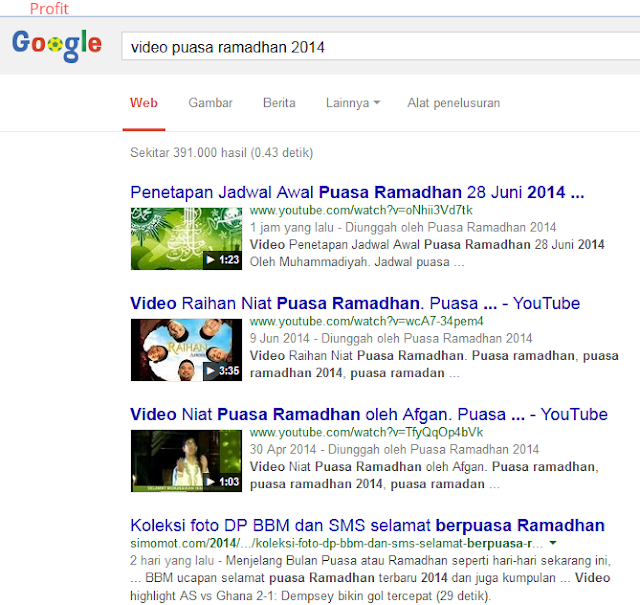 DOMINASI PAGE ONE DI YOUTUBE