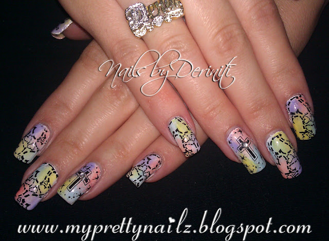 My Pretty Nailz: Easter Nail Art Stamping Design and Video ...