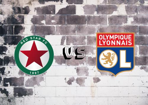 Red Star vs Olympique Lyonnais  Resumen
