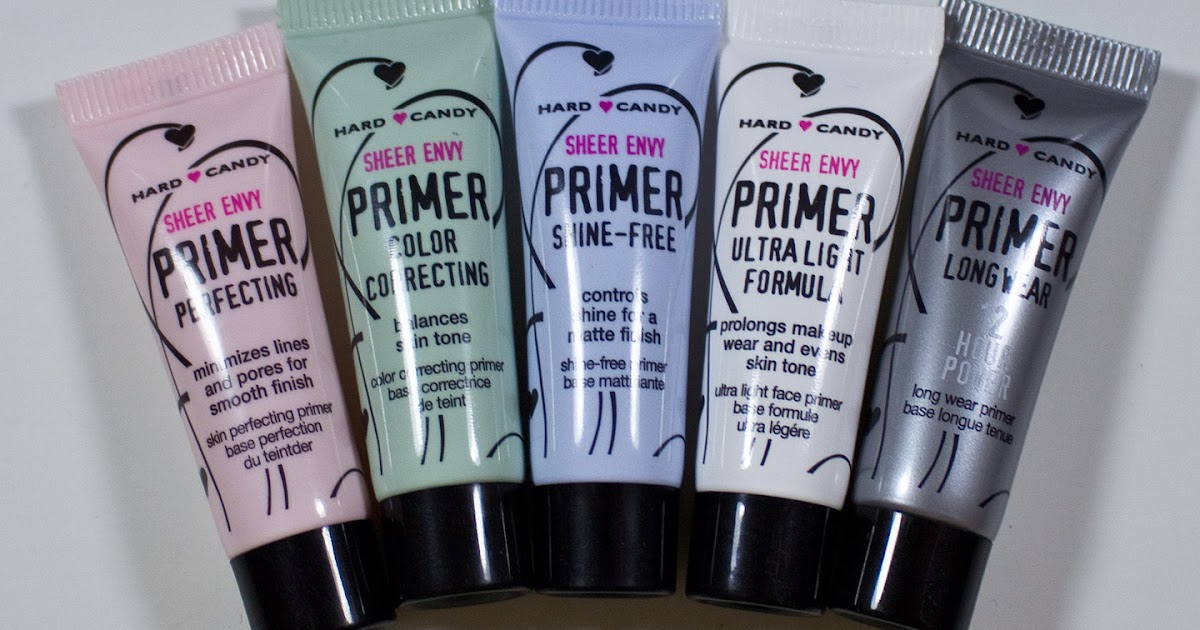 Warpaint And Unicorns Hard Candy Sheer Envy Primers In