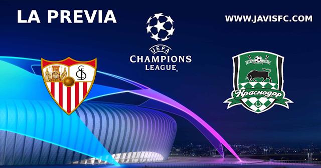 Previa Sevilla FC - Krasnodar