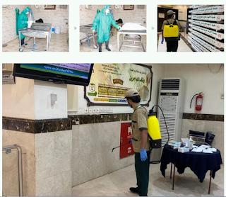 pengurusan jenazah covid-19 di arab saudi