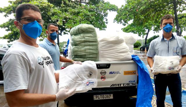 Abapa doa 6 mil toalhas de algodão e equipamentos para combate ao coronavírus na Bahia