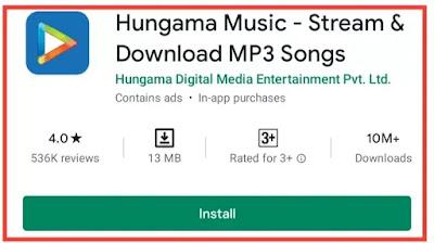 gana download karne wala apps chahiye