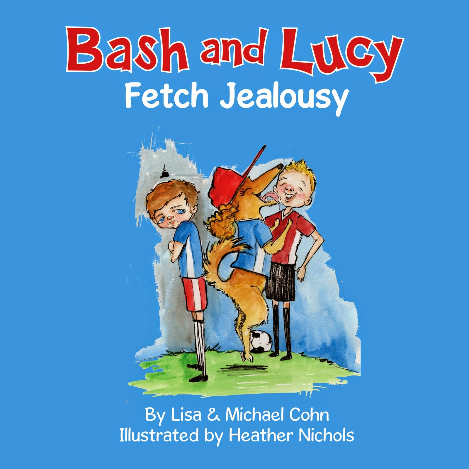 Bash and Lucy Kid Picture Book