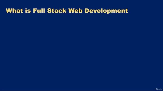 Full-Stack Web Development For Beginners