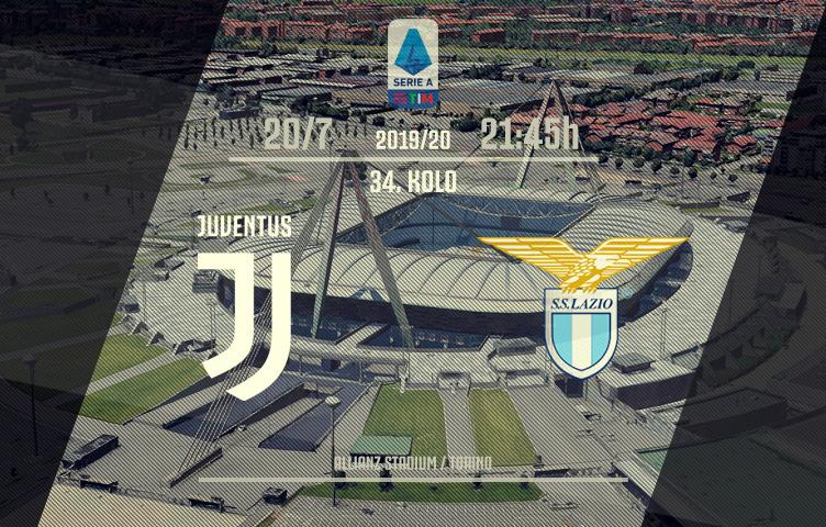 Serie A 2019/20 / 34. kolo / Juventus - Lazio, ponedeljak, 21:45h