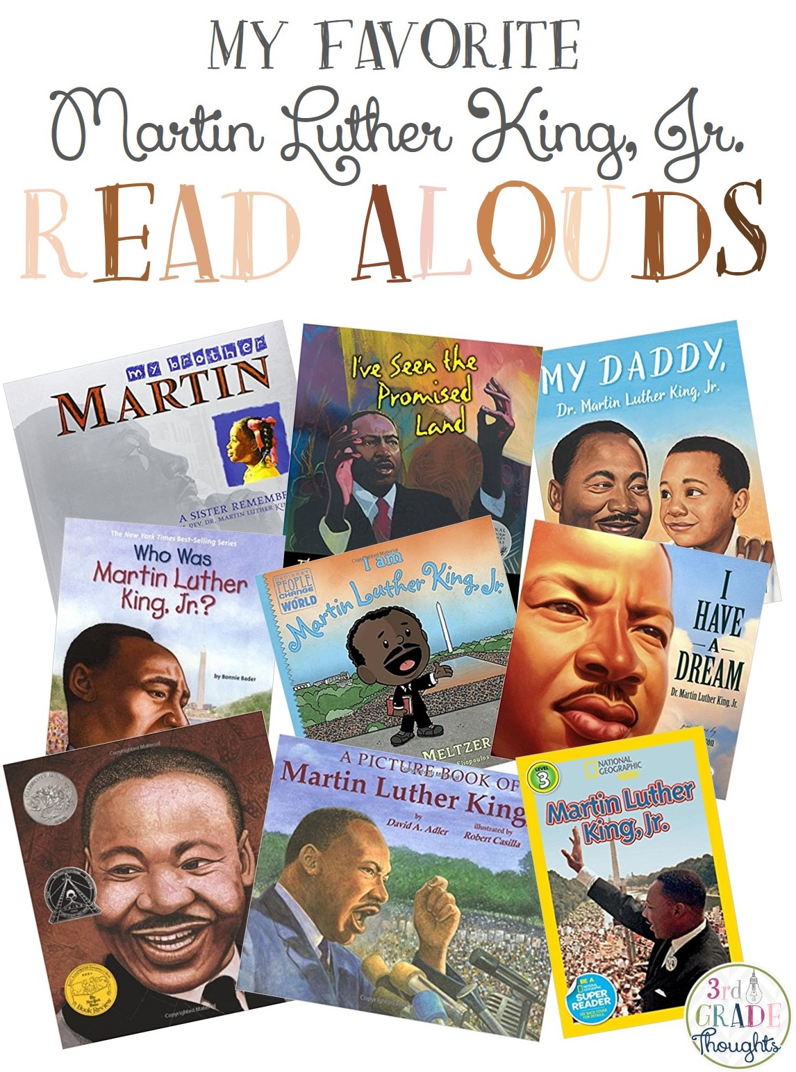 My Favorite Martin Luther King Jr Read Alouds