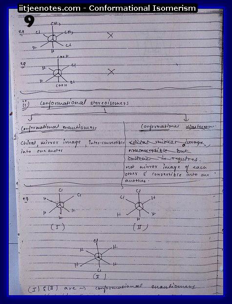 Conformational Isomerism9