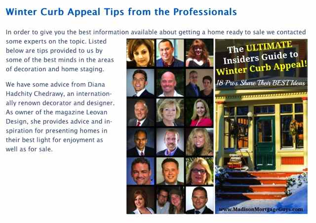 The Ultimate Insiders Guide to Winter Curb Appeal