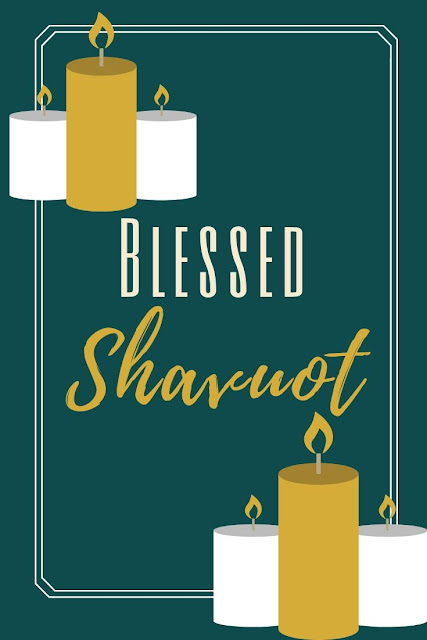 Happy Shavuot Festival Greeting Card | Festival Of Weeks | Chag Shavuot Sameach | 10 Free Pretty Greeting Cards