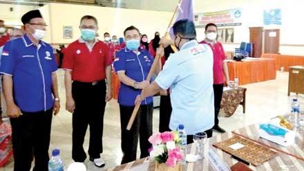 Pengcab PBVSI Kota Padang Periode 2019-2023 Dikukuhkan