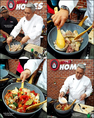Dato Chef Wan Live-Cooking Session Preparing His Spanish Chicken Stew