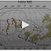 Vídeo de 40 segundos mostra a dinâmica tectônica da Terra no último bilhão de anos