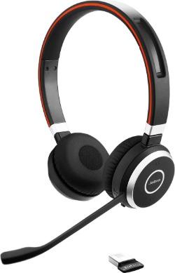 Jabra draadloze bluetooth headset met dongle