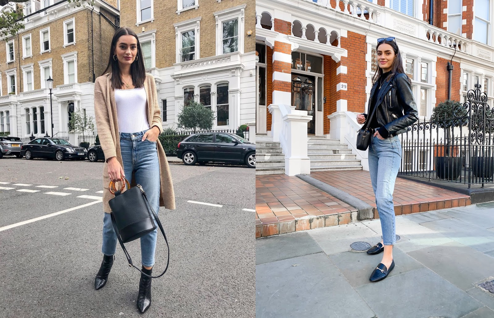 how to style new look tori mom jeans