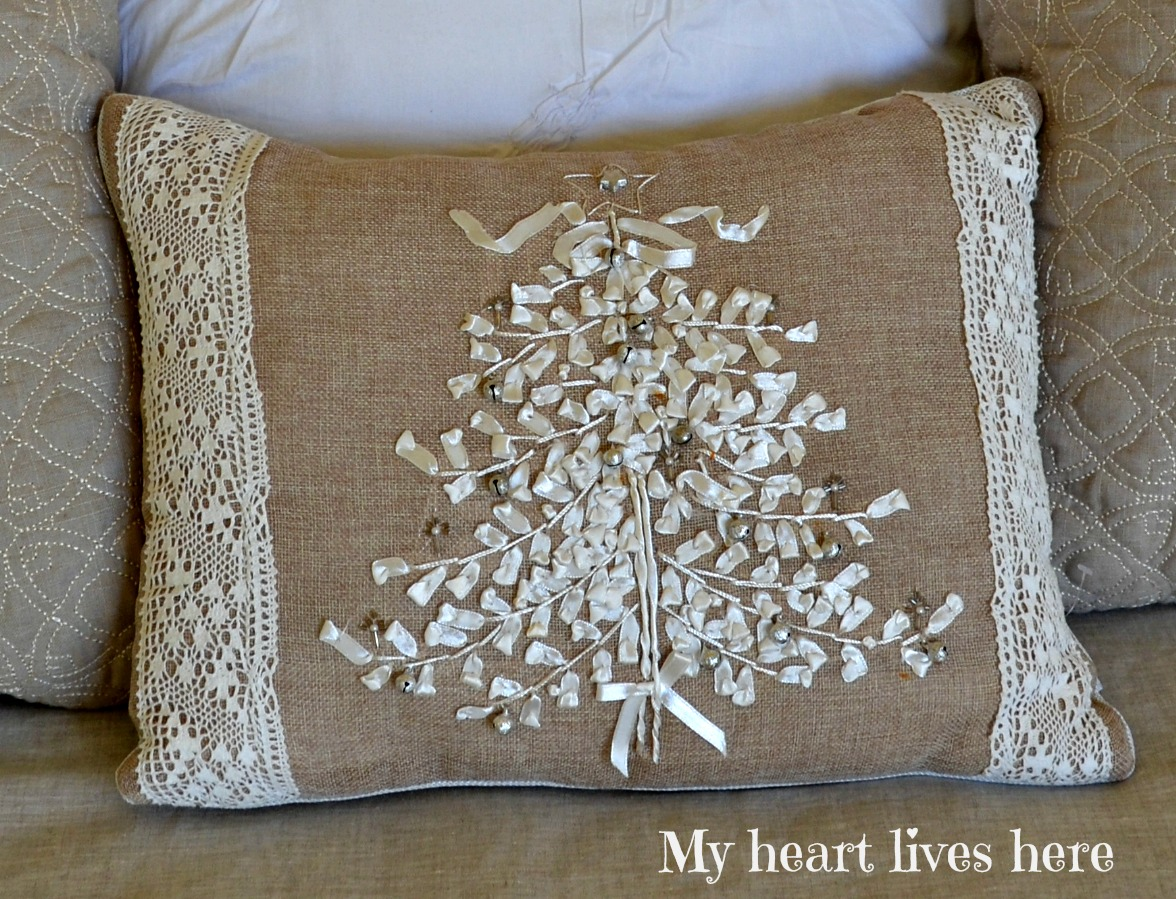 Sometimes All it Takes is a Pillow - My Heart Lives Here