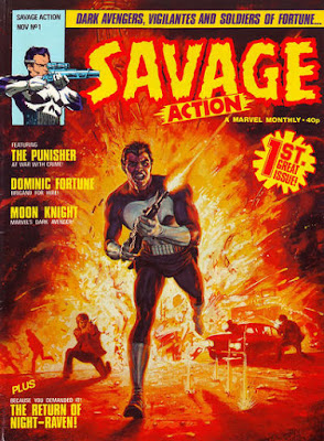 Savage Action #1, the Punisher
