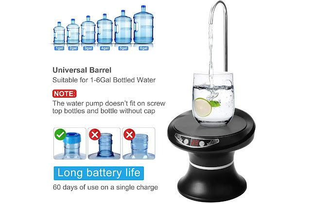 3- Maypott Drinking Water Dispenser Pump