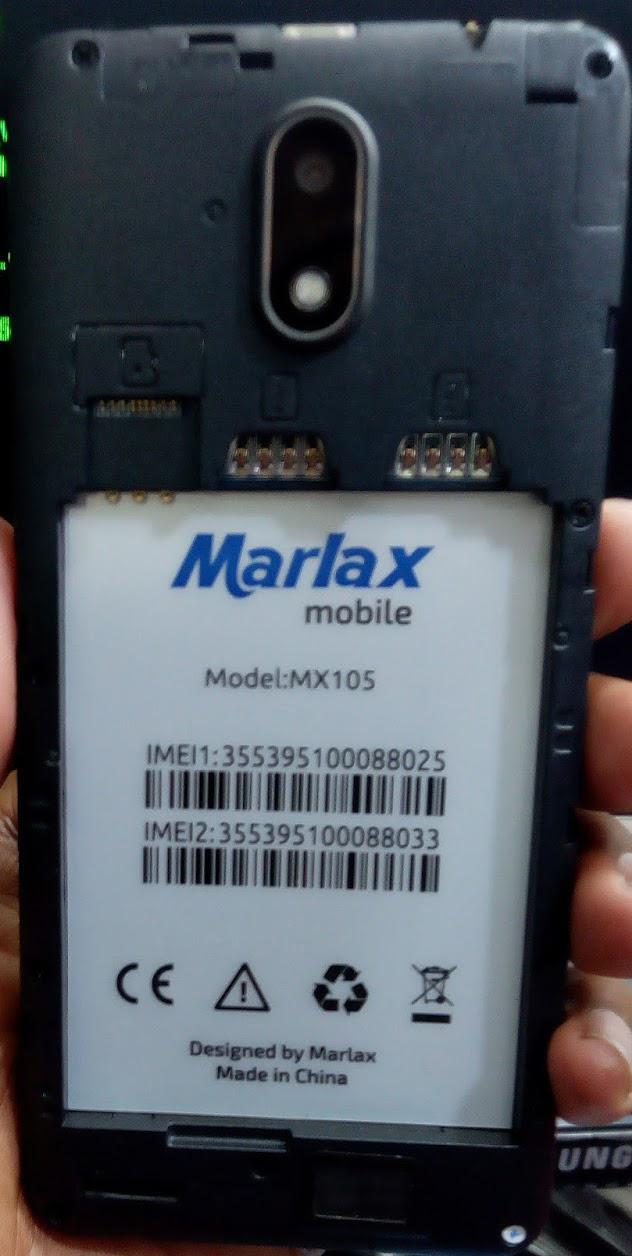 MARLAX MX105 FLASH FILE FIRMWARE STOCK ROM