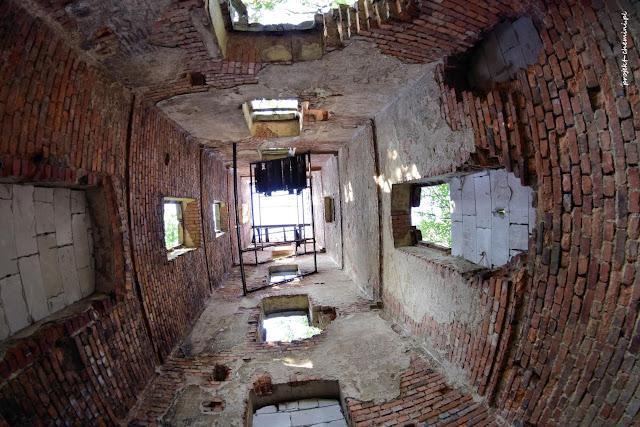 Sołtysia Góra, wnętrze wieży widokowej
