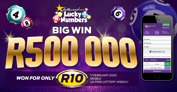 R500 000 big win on Lucky Numbers
