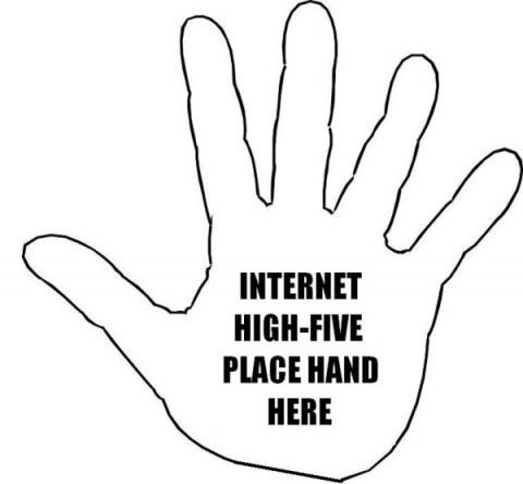 National High Five Day Memes