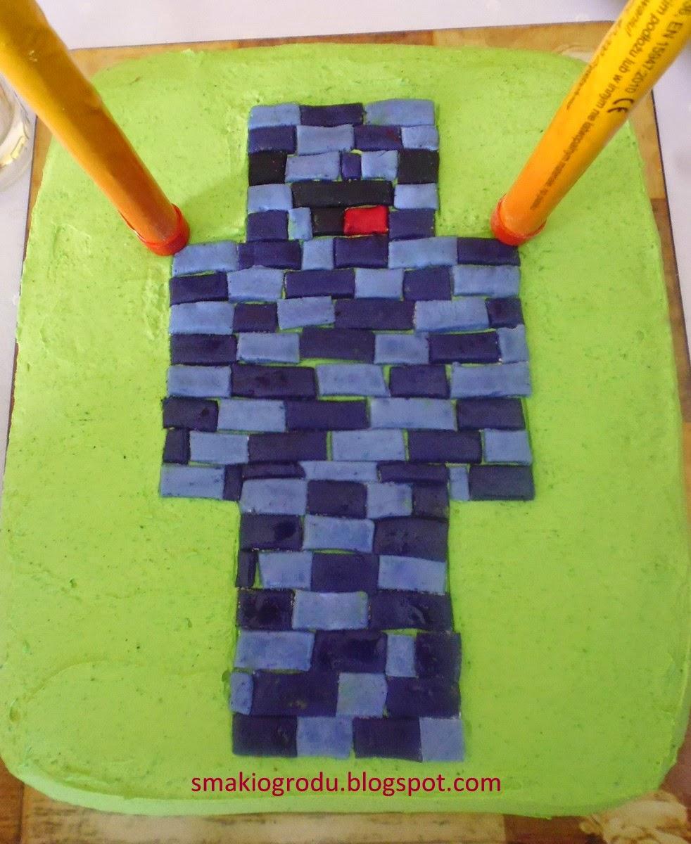 Smaki Ogrodu Tort Galaretkowy Z Gry Minecraft