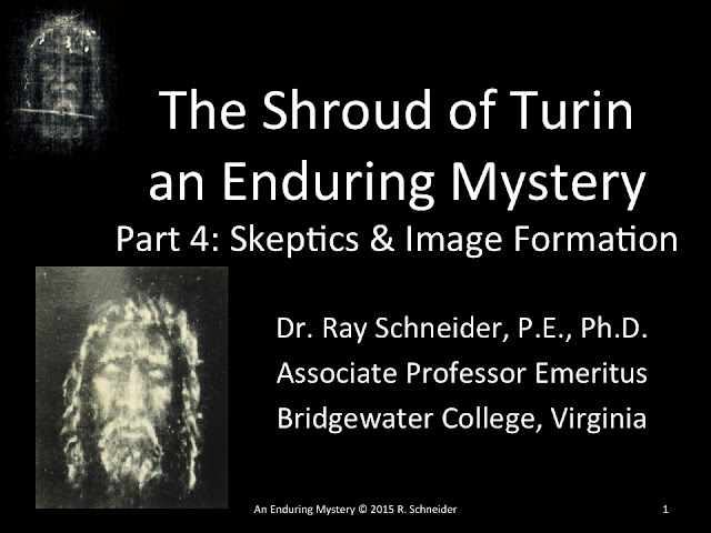 The Shroud of Turin an Enduring Mystery part 4.