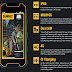 DeWalt lança smartphone com 4G, Android e IP68