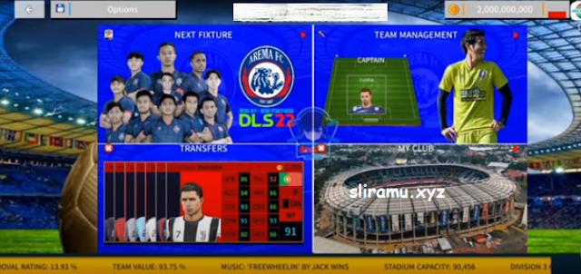 DLS 22 Mod Arema Update Transfer Pemain & Kits 2021-2022