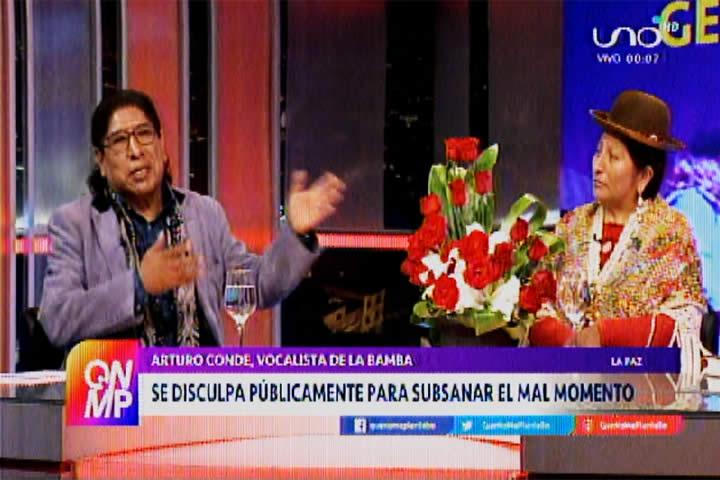 Arturo Conde de La Bamba se disculpa públicamente por incidente de la mistura