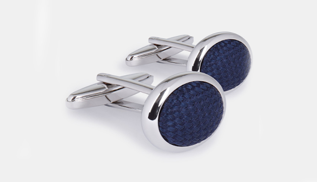 are used to hold the cuffs of a shirt together, alternative to buttons