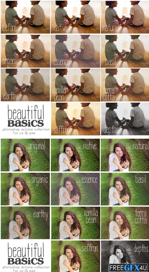 MB Beautiful Basics Actions Collection